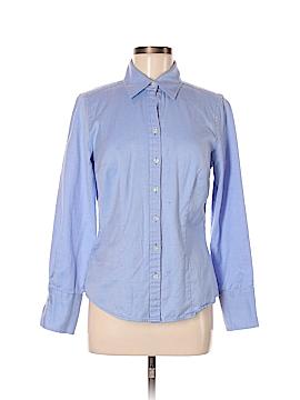 Ann Taylor Factory Long Sleeve Button-Down Shirt Size 8