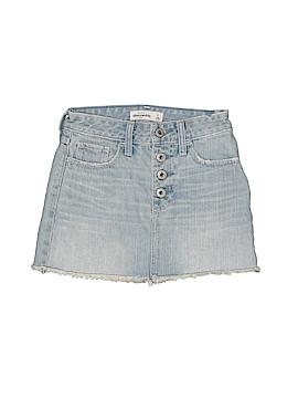 Abercrombie Denim Skirt Size 8