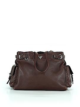 Prada Leather Tote One Size