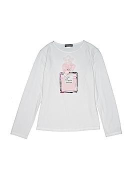 Kate Mack Long Sleeve T-Shirt Size 10