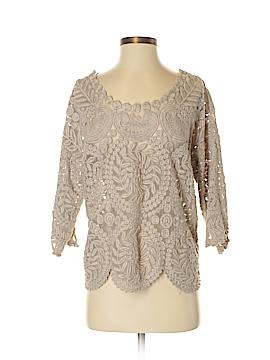 Yoana Baraschi 3/4 Sleeve Blouse Size M