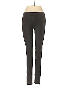 David Lerner Faux Leather Pants Size XS