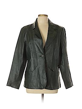 D&Co. Leather Jacket Size L