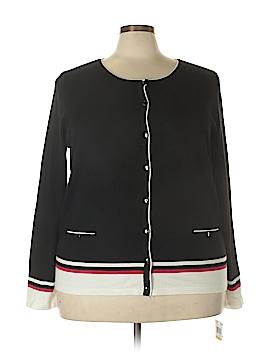 Karen Scott Cardigan Size 3X (Plus)