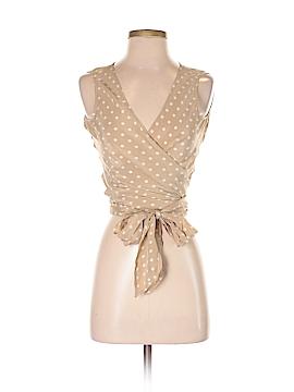 Newport News Sleeveless Silk Top Size 4