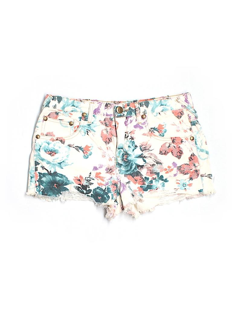 Free People Women Denim Shorts 30 Waist