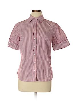 Merona Short Sleeve Button-Down Shirt Size L