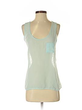 Eyelash Couture Sleeveless Blouse Size S