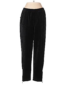Quacker Factory Velour Pants Size Sm SHORT
