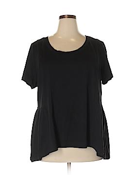 American Rag Cie Short Sleeve Top Size 2X (Plus)