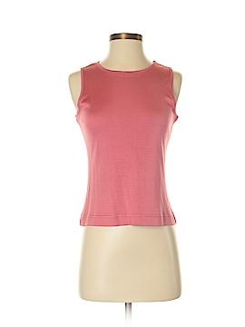 Dana Buchman Sleeveless Silk Top Size P (Petite)