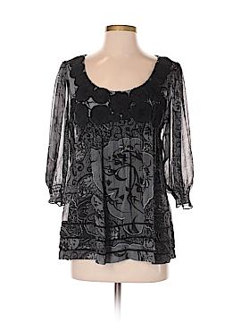 ECI 3/4 Sleeve Blouse Size 8