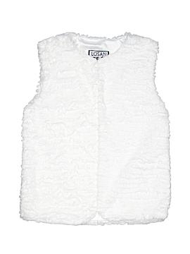 Losan Faux Fur Vest Size 12