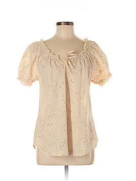 Grand & greene Short Sleeve Blouse Size M