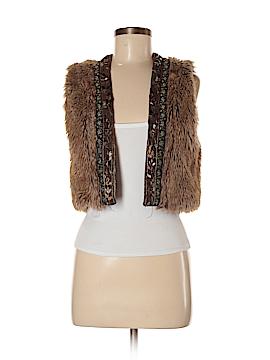 Boutique XXI Faux Fur Vest Size M