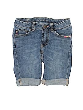 Lands' End Denim Shorts Size 5