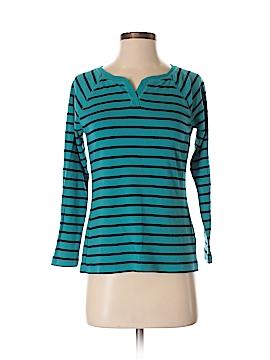 Chaps Long Sleeve T-Shirt Size S (Petite)