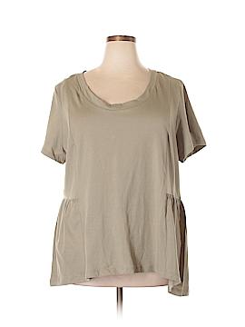 Blu Sage Short Sleeve Top Size 2X (Plus)