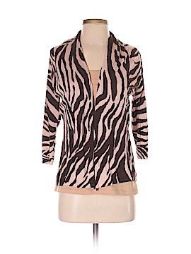 August Silk Silk Cardigan Size P