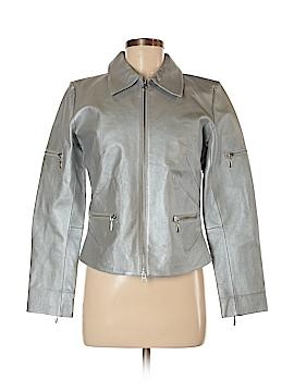 Metro Style Leather Jacket Size 6