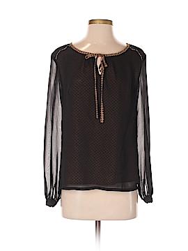 Uttam Boutique Long Sleeve Blouse Size 0 - 2