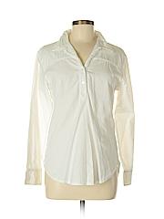 Kayce Hughes Women Long Sleeve Button-Down Shirt Size 8
