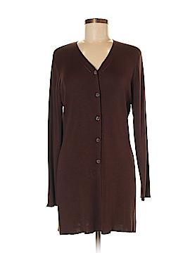 Valerie Stevens Silk Cardigan Size M
