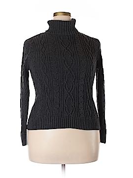 Jeanne Pierre Turtleneck Sweater Size XL