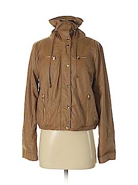 Ellen Tracy Faux Leather Jacket Size S