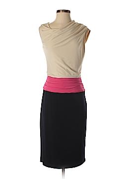 Suzi Chin for Maggy Boutique Casual Dress Size 4 (Petite)