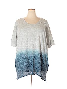 SONOMA life + style 3/4 Sleeve T-Shirt Size 1X (Plus)