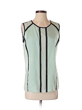 J Brand Sleeveless Silk Top Size S