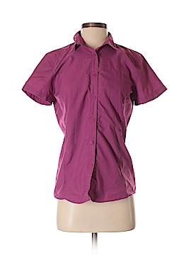 Mountain Hardwear Short Sleeve Button-Down Shirt Size 4