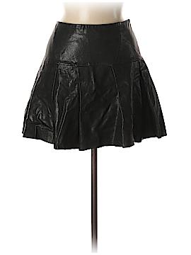 Cynthia Steffe Leather Skirt Size 6