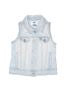 Old Navy Denim Vest Size 6 - 7