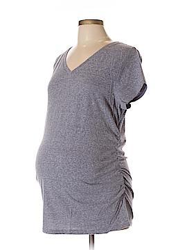 Liz Lange Maternity for Target Short Sleeve T-Shirt Size L (Maternity)