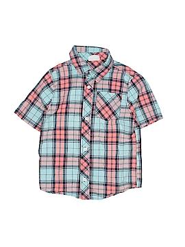 Crazy 8 Short Sleeve Button-Down Shirt Size 5T