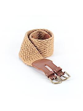 Terramar Sports Leather Belt 26 Waist