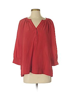Joie a La Plage 3/4 Sleeve Silk Top Size S