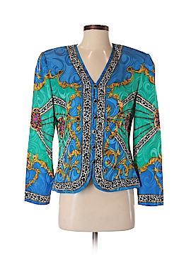 Adrianna Papell Silk Blazer Size 4