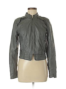 Heart Soul Faux Leather Jacket Size M