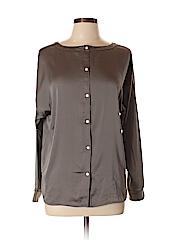 Ann Taylor LOFT Women Long Sleeve Blouse Size L (Petite)