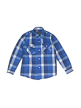 Zara Kids Long Sleeve Button-Down Shirt Size 4 - 5