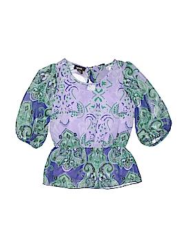 Amy Byer Short Sleeve Blouse Size 7 - 8