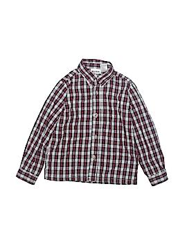Blueberi Boulevard Long Sleeve Button-Down Shirt Size 6