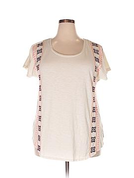 SONOMA life + style Short Sleeve Top Size 1X (Plus)