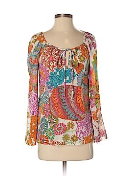 Trina Turk Long Sleeve Blouse Size S