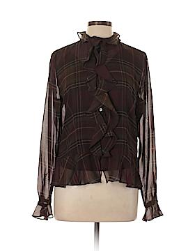 Chaps Long Sleeve Blouse Size L