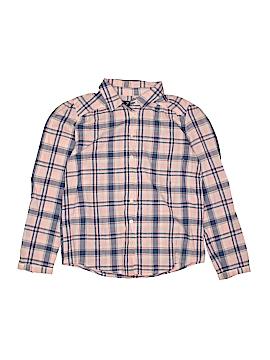 Gap Kids Long Sleeve Button-Down Shirt Size XX-Large youth