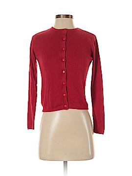 August Silk Silk Cardigan Size S